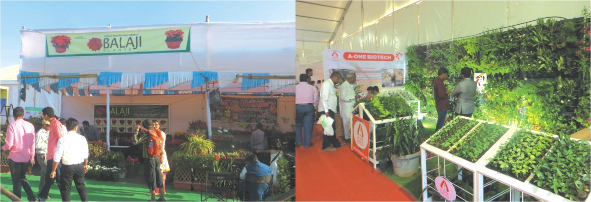 India's Largest Exhibition on Floriculture, Nursery